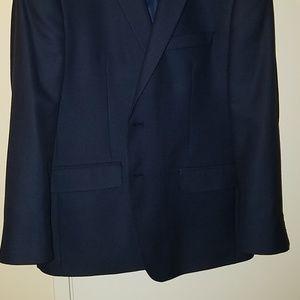 Van Heusen Men's Navy 2-Button Blazer